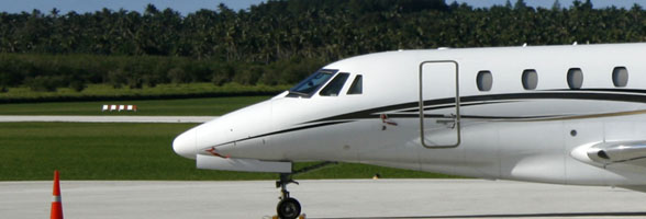 ATS Tonga specializes in ground handling services and assistance for itinerant jets crossing the South Pacific
